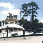 Carolina Waterway: boat