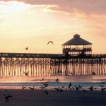 Photo of the Folly Beach fishing pier