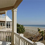 DeBordieu, Georgetown SC beach front property - porch