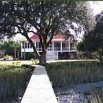 photo of a marshfront home in James Island, SC