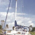 Sail Boat - at the Bluffs, Myrtle Beach, SC