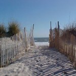 Beach photo at Sneads Ferry, North Carolina
