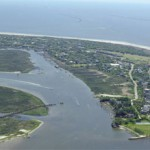 Aerial photo of Sullivan&#039;s Island, South Carolina