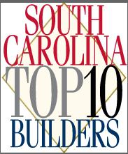 South carolina top ten builders sc builders top 10 for Best home builders in south carolina